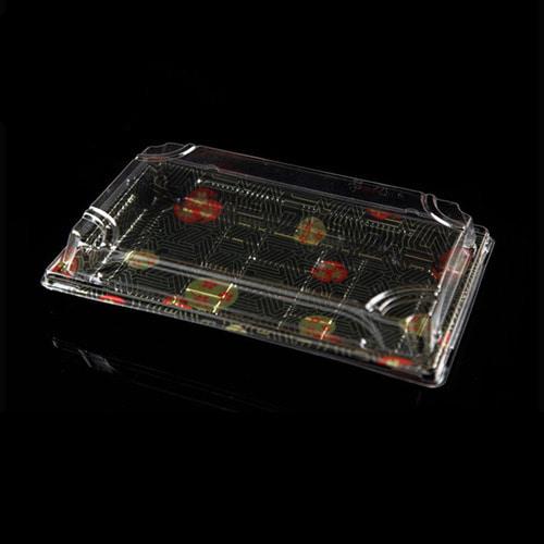 XYW-09 사각초밥용기세트x300개-박스(BR)