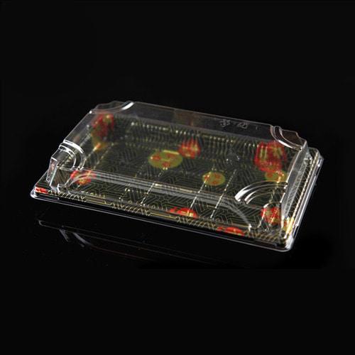 XYW-07 사각초밥용기세트x400개-박스(BR)