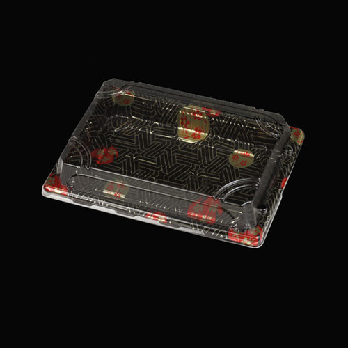 XYW-05 사각초밥용기세트x400개-박스(BR)